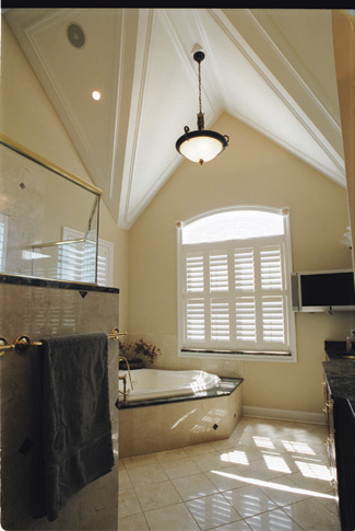 Bathroom Lighting Vaulted Ceiling photo tour - donald a. gardner architects, inc. the jerivale house