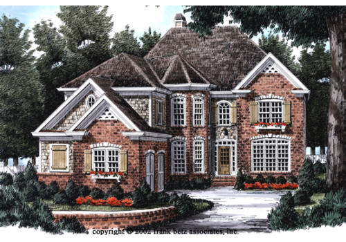 Photo tour frank betz associates inc the summerlyn for Frank betz house plans with photos