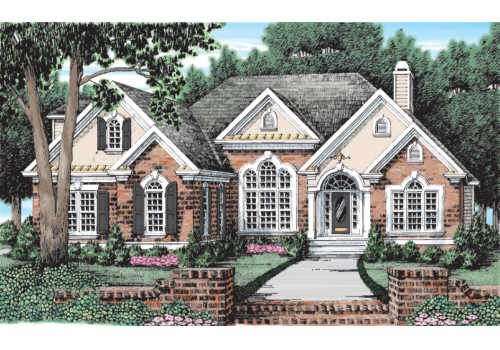 The Cassidy House Plans First Floor Plan House Plans By