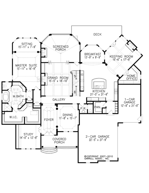 The Mon Chateau House Plans First Floor Plan House Plans
