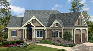 The mill spring cottage w ddhga46 11115g garrell for Garrell builders