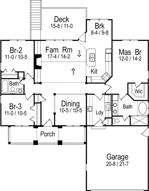 The o 39 neill cottage house plans first floor plan house for House plans designs direct