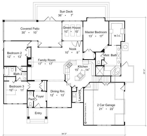 The Best Little House House Plans First Floor Plan House