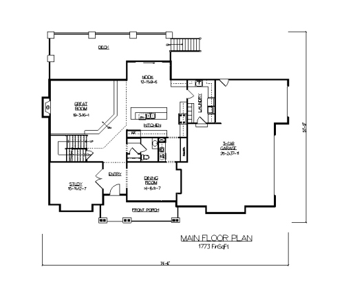 The Red River House Plans First Floor Plan House Plans