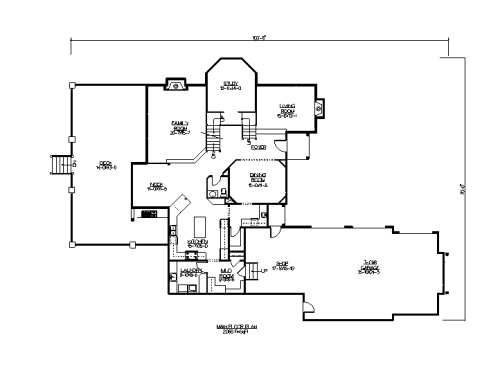 The Merlow House Plans First Floor Plan House Plans By