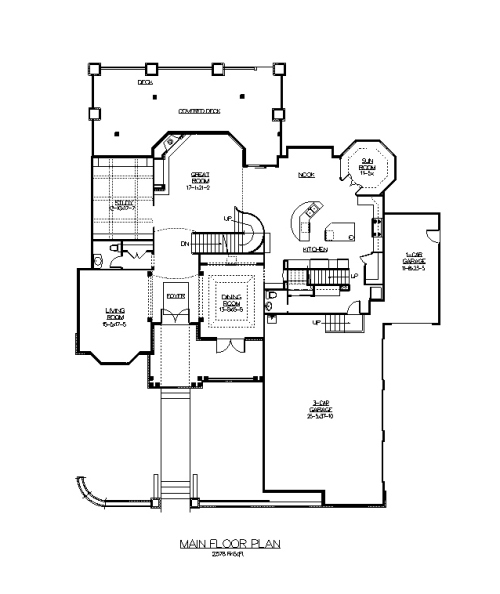 The Straton House Plans First Floor Plan House Plans By