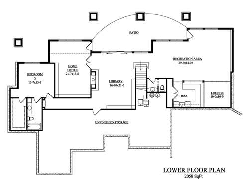 The eagle house plans basement floor plan house plans by for House plans designs direct