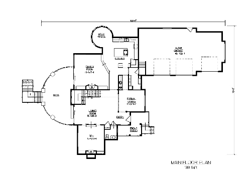 The nantucket house plans first floor plan house plans for Nantucket floor plan
