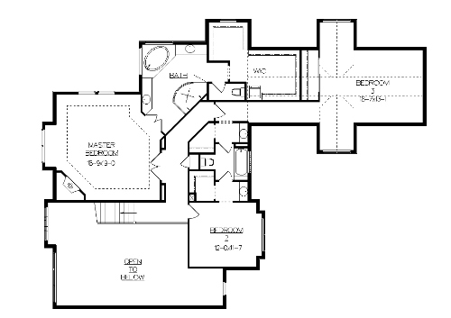 The nantucket house plans second floor plan house plans for Nantucket floor plan