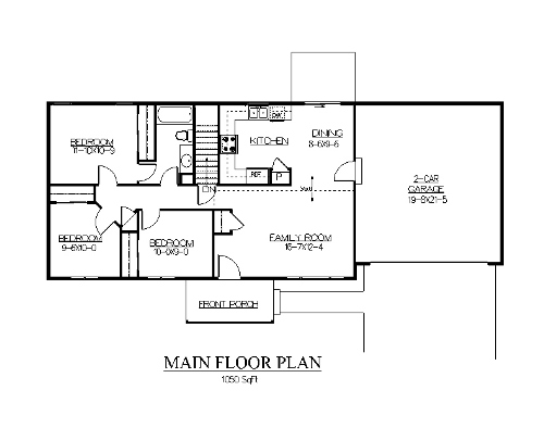 The Leadville House Plans First Floor Plan House Plans
