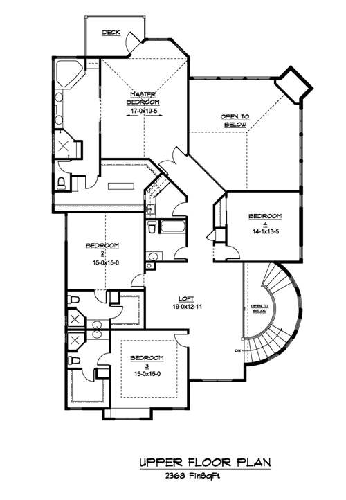 The summit house plans second floor plan house plans by for Summit homes floor plans