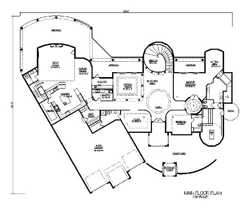 The venezia house plans first floor plan house plans by for House plans designs direct