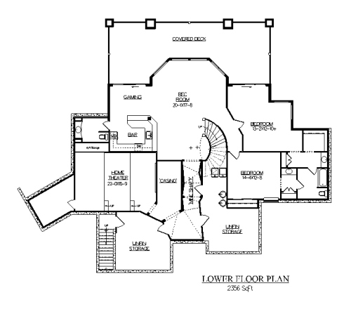 The Open Range House Plans Basement Floor Plan House