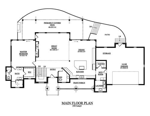 The snowmass house plans first floor plan house plans by for House plans design direct