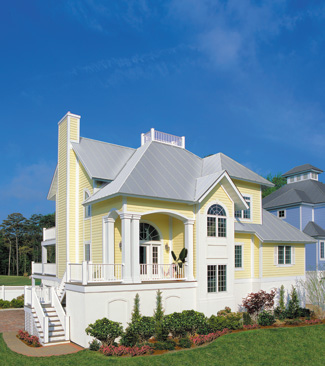 Photo tour sater design collection inc the aruba bay for Elevated foundation house plans