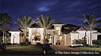 Sater Design Collection, Inc. The Sterling Oaks House Plan DDWEBDDDS 6914