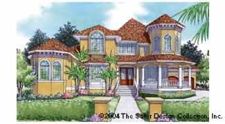 The sunset beach w ddhds46 6848 sater design for Sater design homes for sale