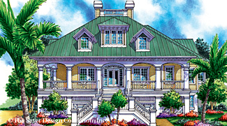 Coastal Home Plans from the nations top house plan designers