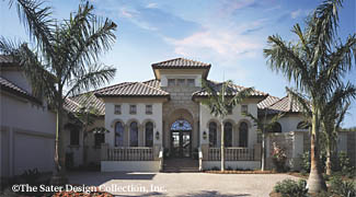 The porto velho w ddhds46 6950 sater design collection for Sater design homes for sale