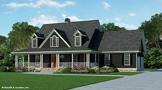 click for larger image - Midland House Plans