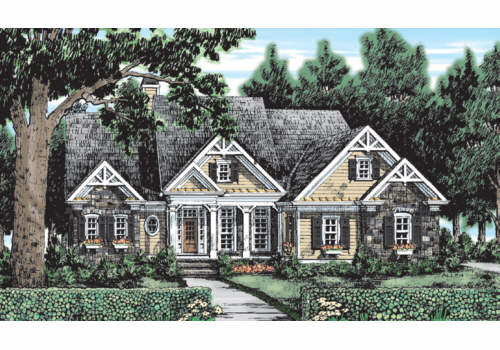 The Hennefield - Plan #:DDWEBDDFB-3835 - By:Frank Betz Associates, Inc.