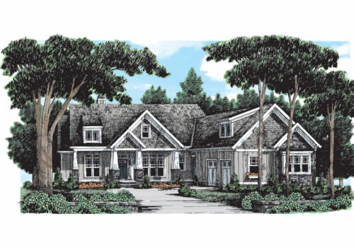 Photo tour frank betz associates inc the braxtons for Southern living craftsman house plans