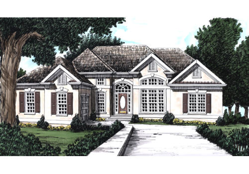 Frank Betz Associates, Inc. The Torrington House Plan