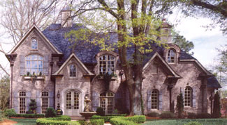 Photo tour garrell associates the chateau lafayette for House plans lafayette la