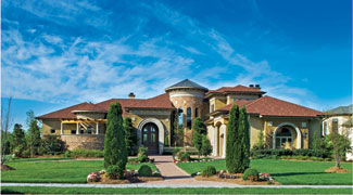 The Villa Sabina   Plan #:DDWEBDDDS 8068   By:Sater Design Collection