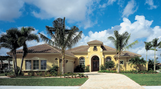 Sater Design Collection, Inc. The San Sebastian House Plan DDWEBDDDS ...