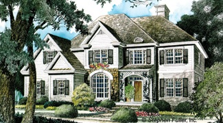 Stephen Fuller Inc The Fancrest House Plan DDWEBDDSF 293